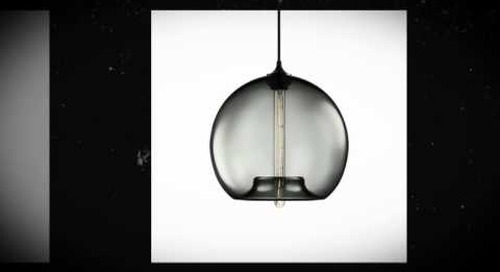Stamen Handmade Glass Pendant Lamp - Proof Sheet