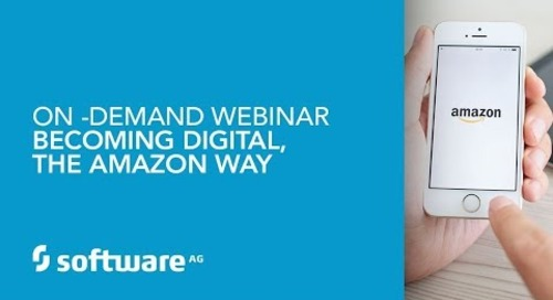 On -Demand Webinar Becoming Digital, The Amazon Way