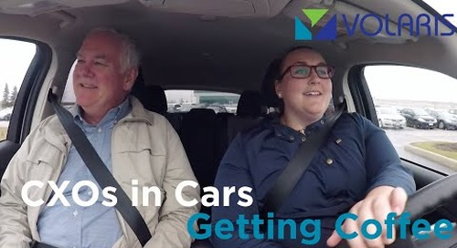 CXOs in Cars Getting Coffee - Part 3
