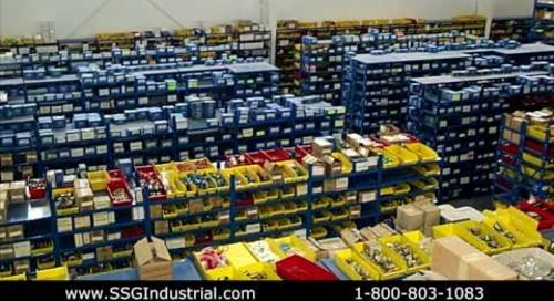 Automated Vertical Machines & Parts Trays Maximize Storage Space