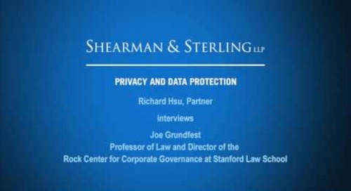 Hsu Interviews Joe Grundfest of the Rock Center for Corporate Governance at Stanford Law School