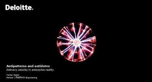 Sydney - Antipatterns and Antidotes - Yamen Sader