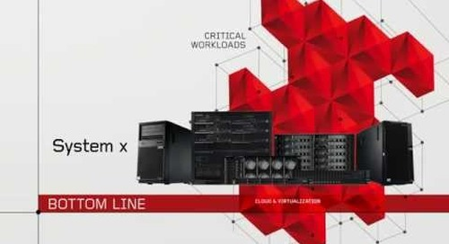 The Facts: System x servers from Lenovo beat Cisco in Reliability, Security and Efficiency
