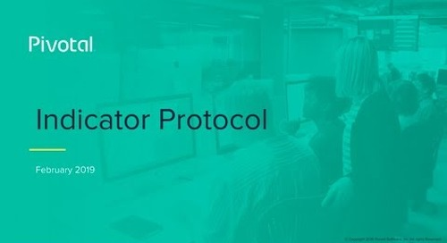 Introducing Monitoring Indicator Protocol