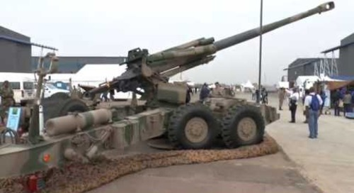 AAD 2016: G5 Howitzer 155mm artillery system