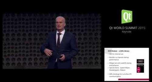 Bringing LG's webOS and Qt to Millions of SmartTVs, LG, Torsten Rahn