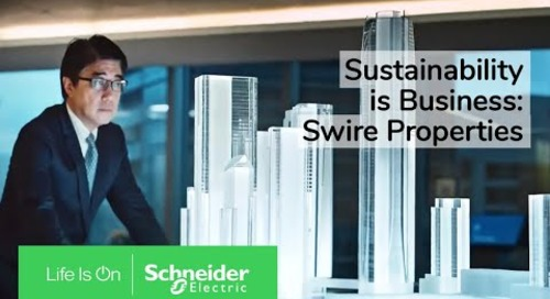 Swire Properties Ensure a Sustainable Future | Schneider Electric