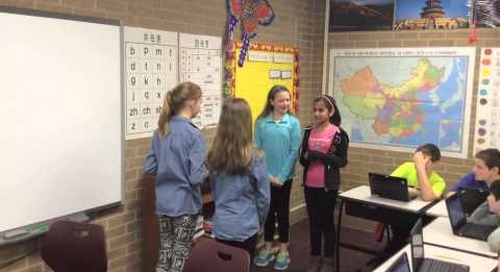 'Global Learning at Jenks East Intermediate