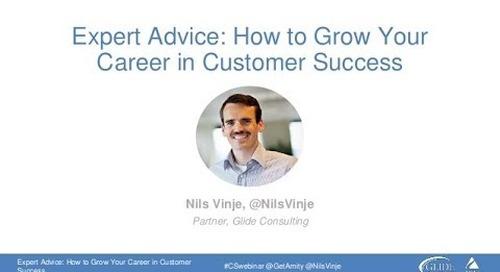 Growing Your Career in Customer Success