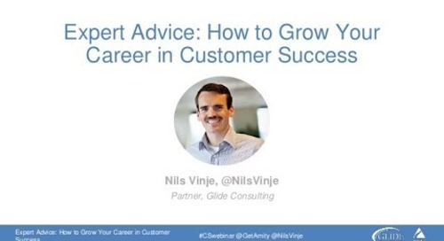 Growing Your Career in Customer Success