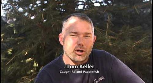 Nebraska Record Paddlefish