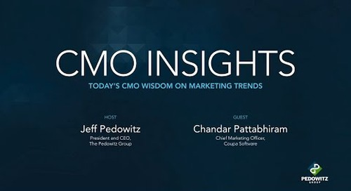 CMO Insights: Chandar Pattabhiram, CMO for Coupa Software