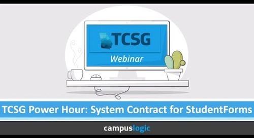 TCSG Power Hour