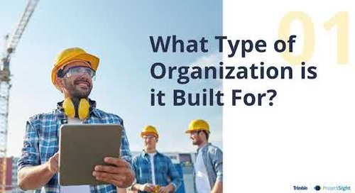 What Type of Organization was the Software Built For?