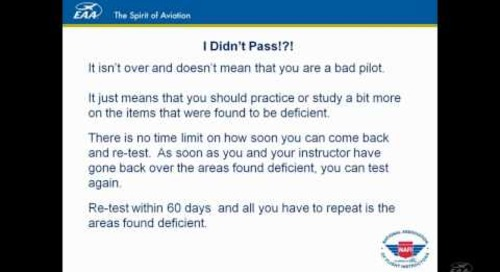 Webinar: How to Pass Your Checkride