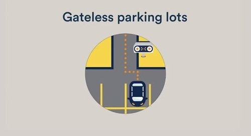 Gateless off-street parking enforcement with AutoVu Free-Flow