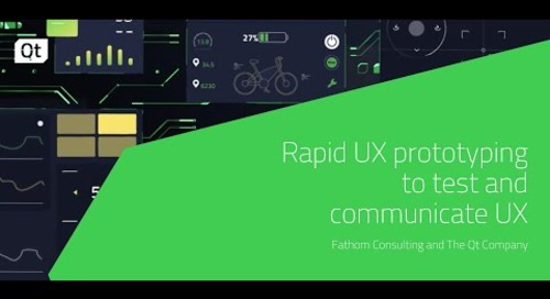 Rapid UX prototyping to test and communicate UX {On-demand webinar}