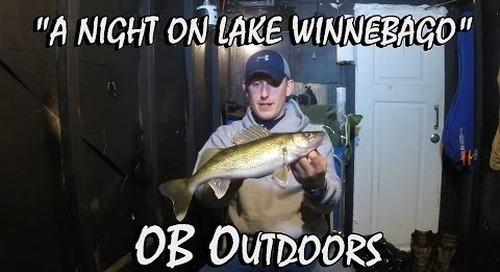 """Ice Fishing Lake Winnebago - Episode 2.4 """"A Night on Lake Winnebago"""""""