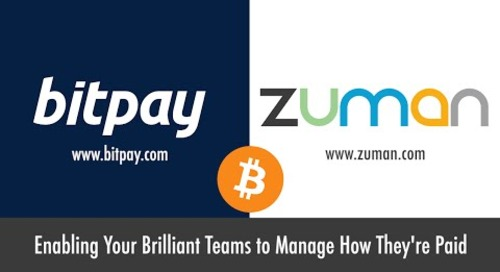 Zuman and BitPay - Now Get Paid in Bitcoin