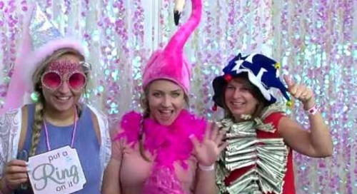 Knoxville Pink Bride Wedding Show, Summer 2016