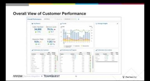 TeamQuest CCM: Customer Success Stories