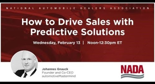 How to Drive Sales with Predictive Analytics