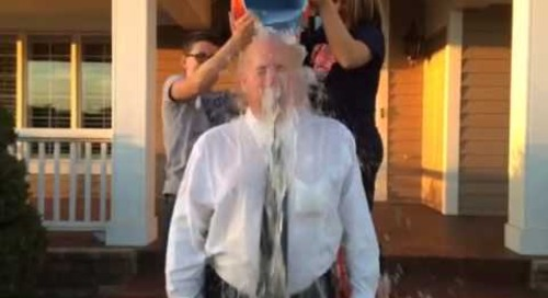 Mike Stapp responds to ALS Ice Bucket Challenge