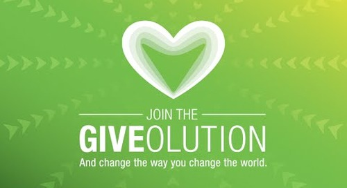 VIDEO: The Giveolution is Here