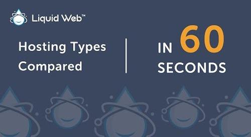 Shared Hosting vs VPS vs Dedicated vs Cloud Server Hosting in 60 Seconds