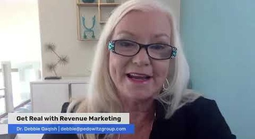 What does it take to be a Revenue Marketer - Dr. Debbie Qaqish