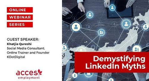 Demystify LinkedIn Myths