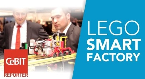 CeBIT Live: ARIS powers a smart factory