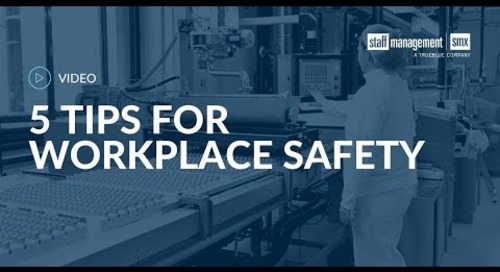 5 tips to keep associates safe on the job