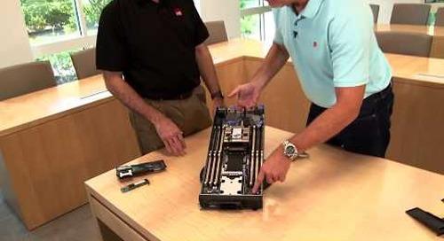 Lenovo ThinkSystem SN550 Server Video Walkthrough