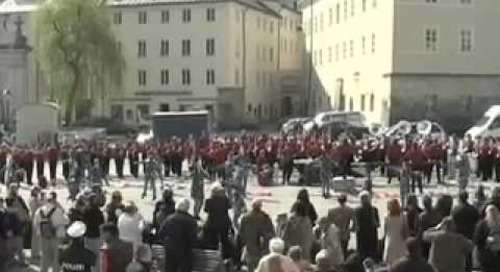 Hunterdon Central Regional High School | Marching Band Performing in Austria