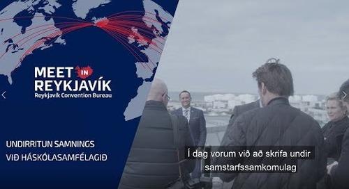Ráðstefnuborgin Reykjavík undirritar samstarfssamning við HÍ, HR og LHÍ