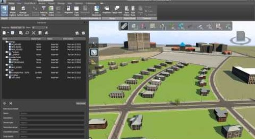 Conceptual Design Workflow with Autodesk Infrastructure Design Suite