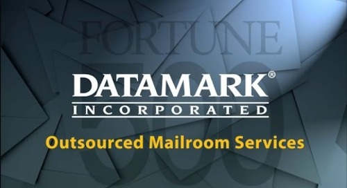 DATAMARK Outsourced Mailroom and Document Processing Services