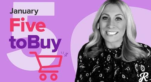 RetailMeNot's Top 5 to Buy in January