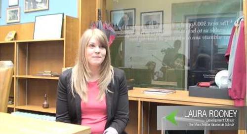 Manchester Grammar School discuss Raiser's Edge NXT