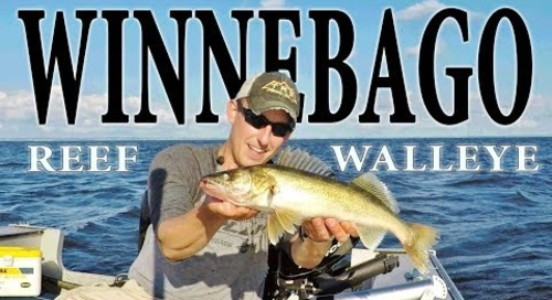Lake Winnebago Walleye Fishing - Bustin a Bago Reef