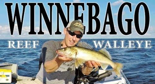 Lake Winnebago Walleye Fishing - Bustin a Bago Reef