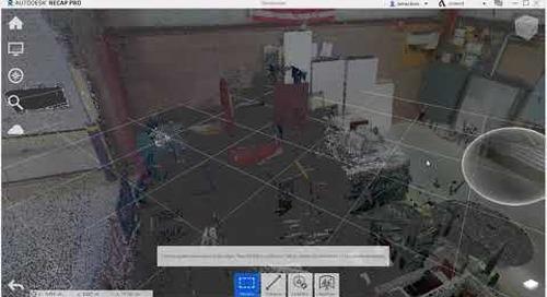 Setting the Origin of a Point Cloud in Autodesk ReCap