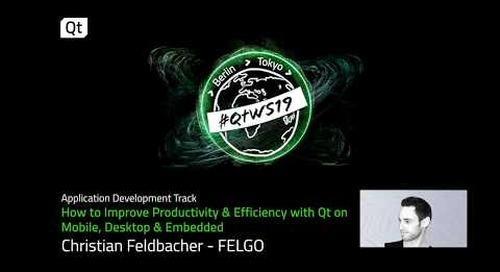 Improve the software development process with Qt