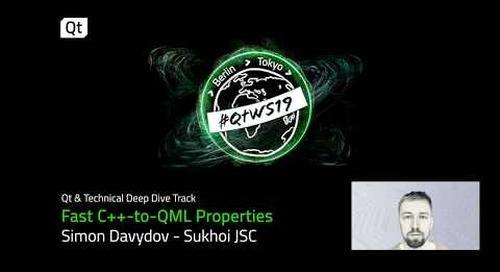 Fast C++ to QML properties