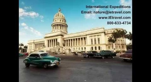 Webinar: What it's like to travel to Cuba now