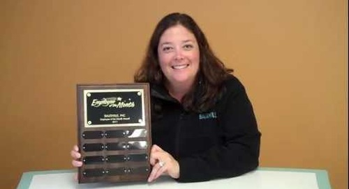 Perpetual Plaque Award by Baudville
