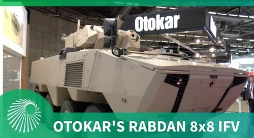 Otokar's Rabdan 8x8 infantry fighting vehicle (IFV)