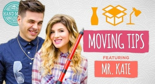 Moving Tips with Mr. Kate & Joey - Guest Week - HGTV Handmade