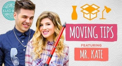 Moving Tips with Mr. Kate & Joey - Guest Week - HGTV Handmade